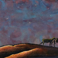 Acrylic painting Seek the Lord While He May Be Found - Print Only Available by Denise Gracias