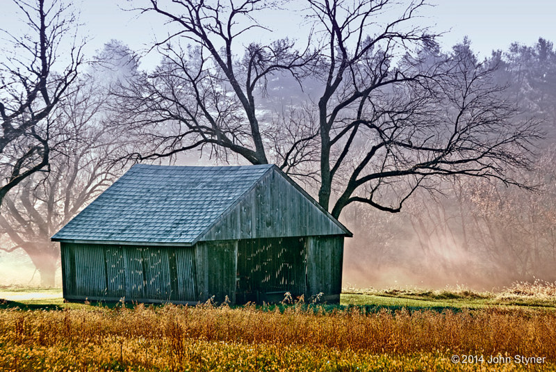 Print JohnStyner_Photography_CornCrib by George Servais