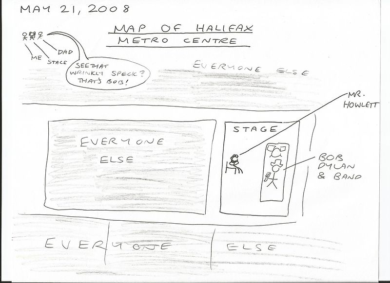 Map Of Halifax Metro Centre by Sam Meisner