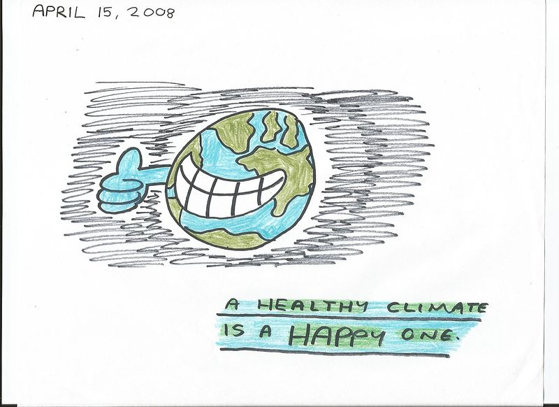 A Healthy Climate Is A Happy One by Sam Meisner
