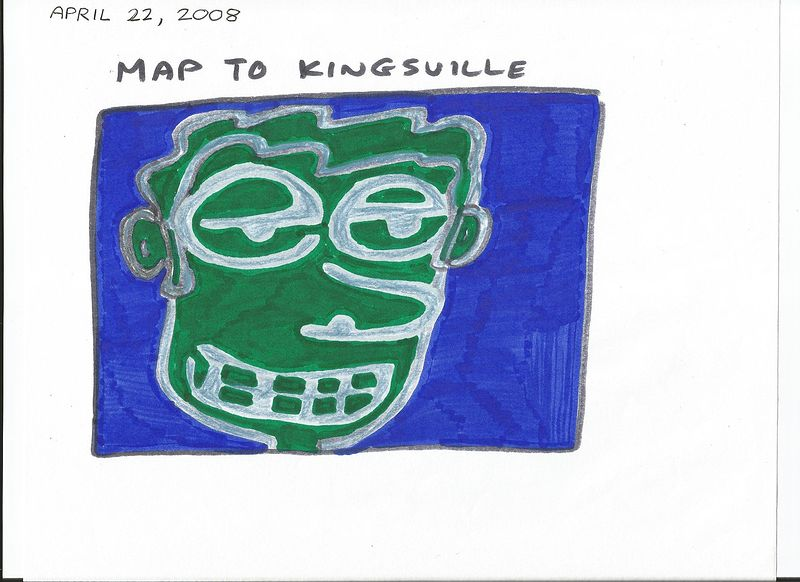 Map To Kingsville by Sam Meisner