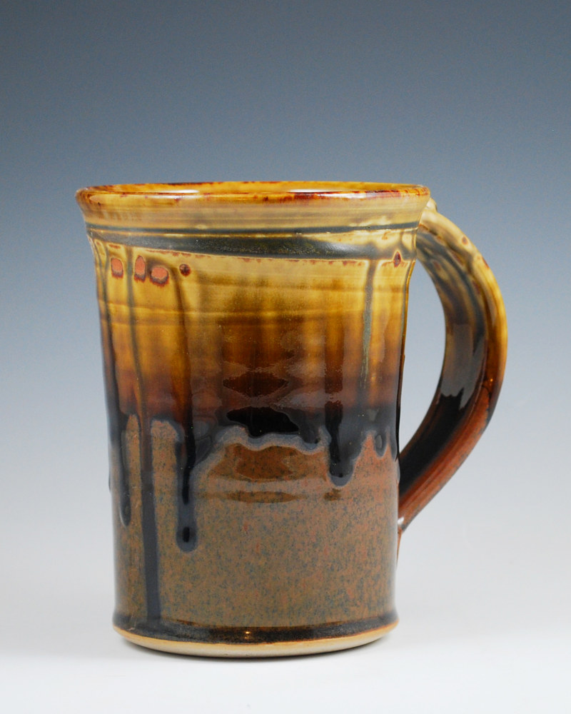 Honey Ash Stein with Chocolate by Mark  Goertzen