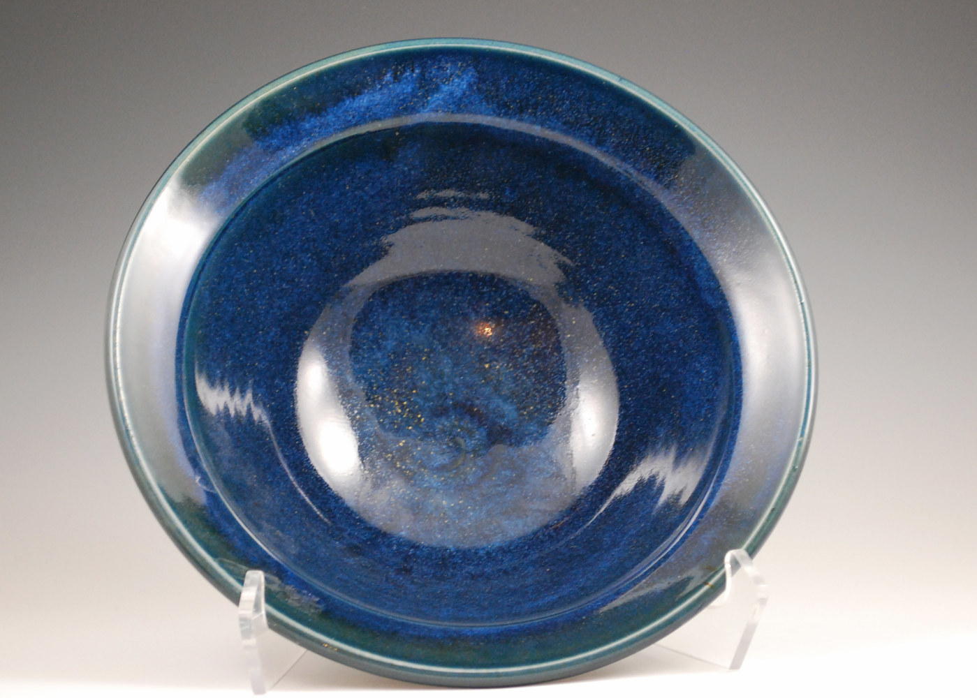 Ocean Serving Bowl by Mark  Goertzen