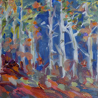 Birches by Laurie Cochrane