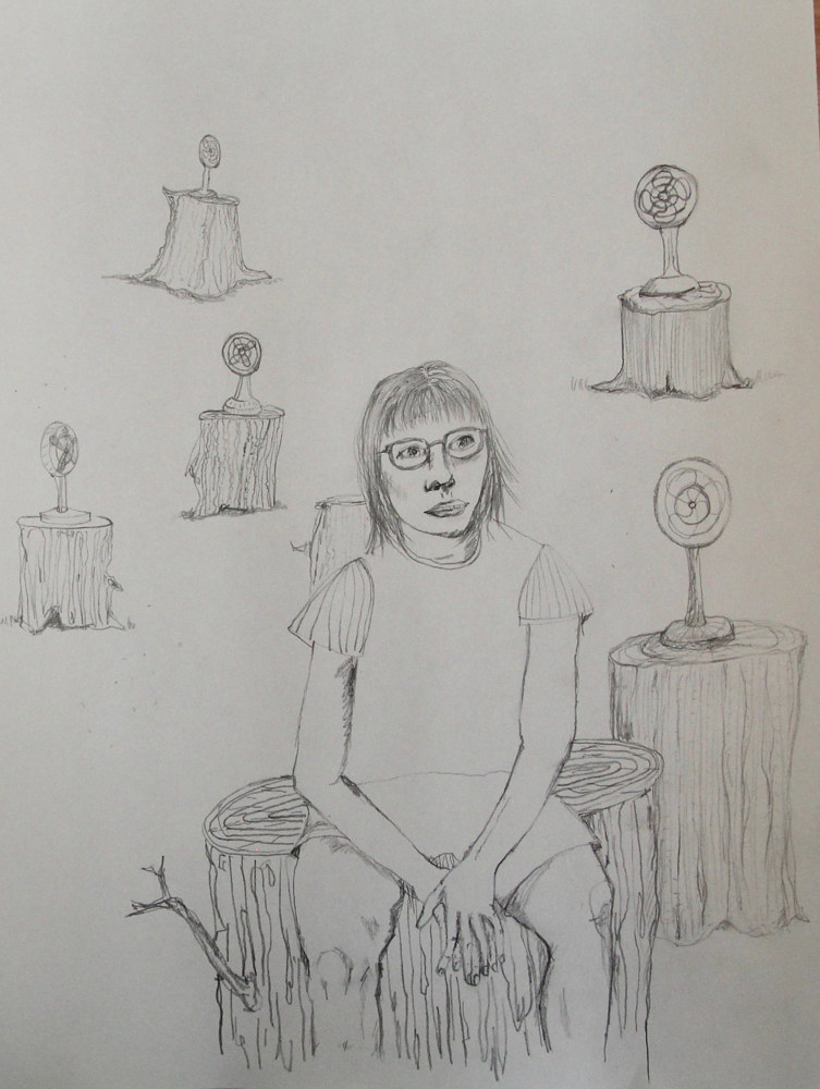 Drawing untitled (eleven) by Katherine Bennett