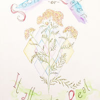 Watercolor Stacey Sproule- Yarrow by Julie Gladstone
