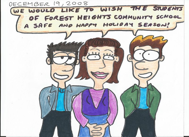 Happy Holidays, Forest Heights! by Sam Meisner