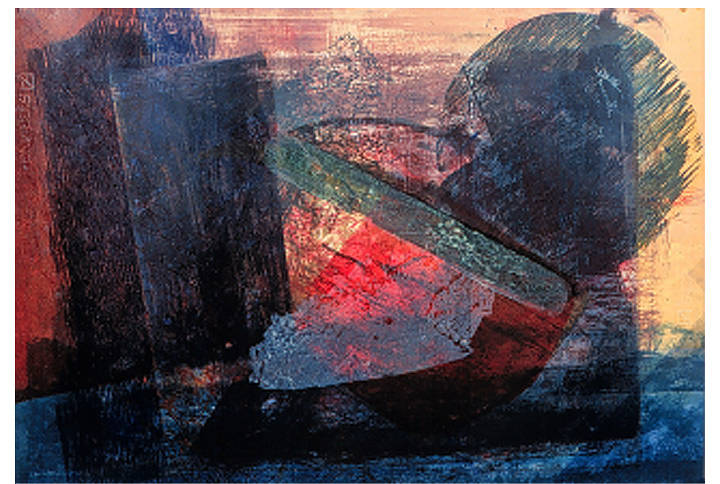 Print By Strawberry Battery, Lithograph and Relief, 51 x 71 cm by Julie Mcintyre