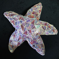 Painting Starfish by Karen Spears