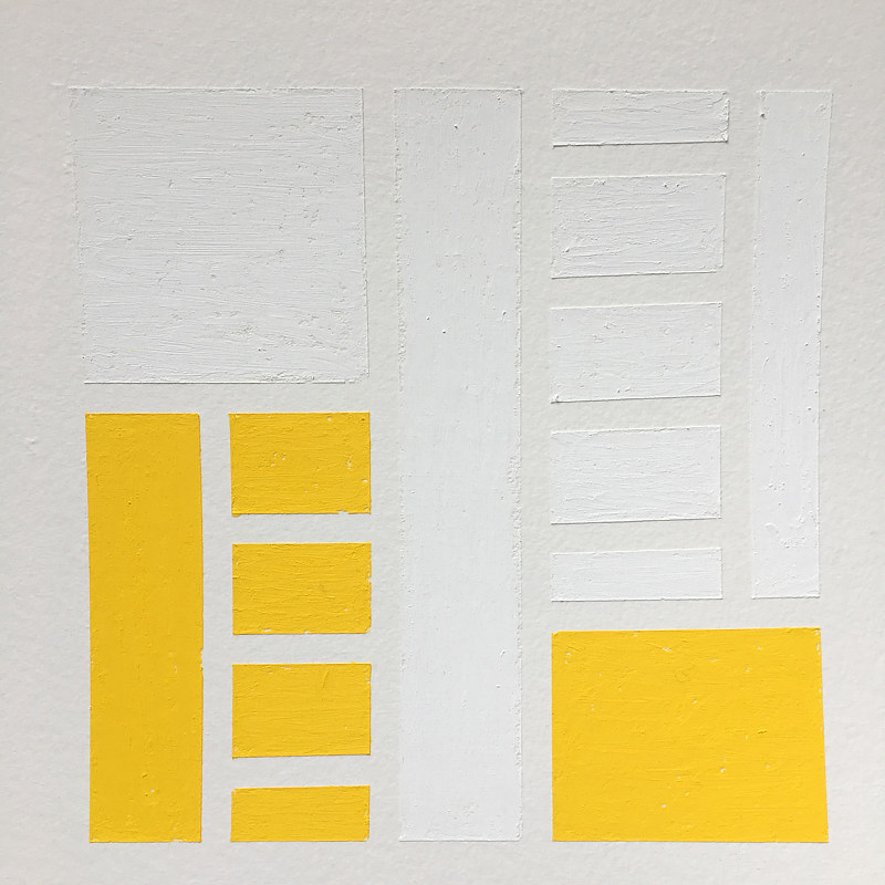 Detail Ladders (Yellow) by Erin  Mackeen