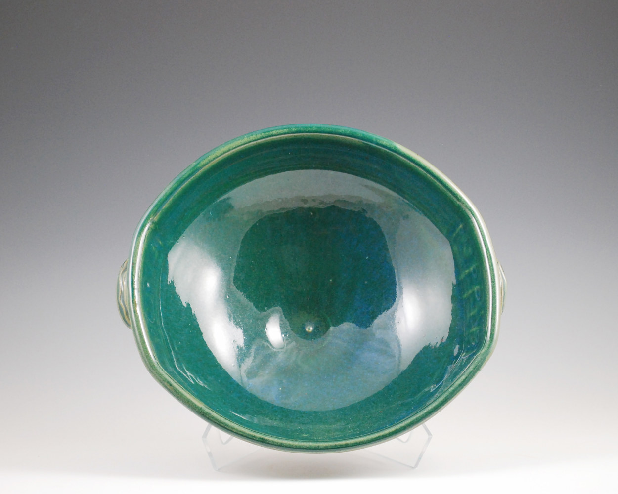 Cerulean Serving Bowl by Mark  Goertzen
