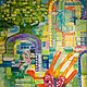 Acrylic painting Memory Garden by Donna Howard