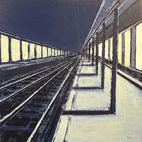 Acrylic painting Terminus #3  by David Tycho