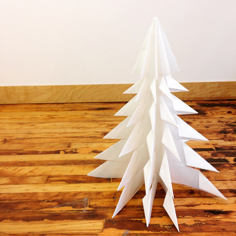 Drawing Large Paper Tree by Erin  Mackeen