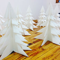 Drawing Large Paper Trees by Erin  Mackeen