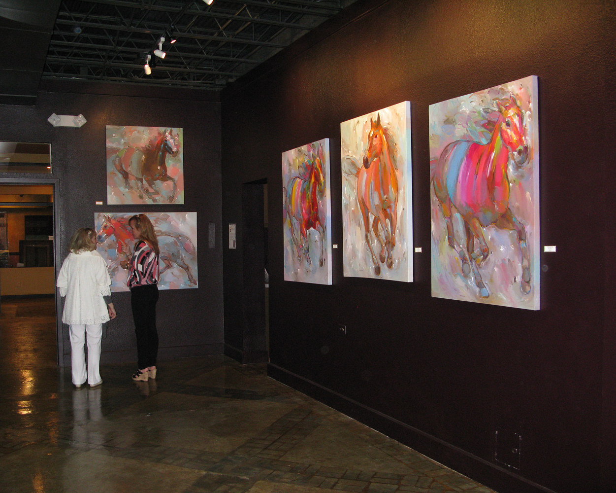 Solo exhibition at Legacy Fine Art Gallery, Hot Springs, AR by Hooshang Khorasani