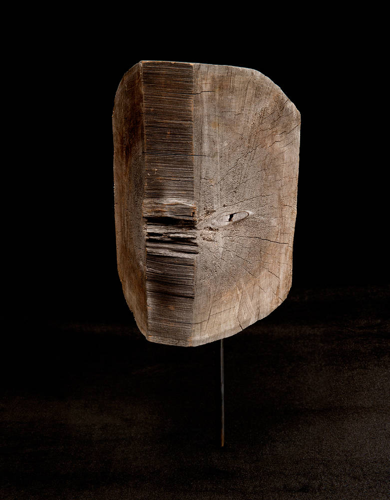 Sculpture Longing #25 by Sonny  Assu