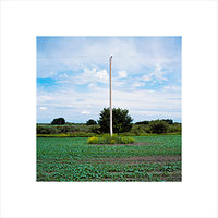 "Archival pigment print  18X18"" 2004   Pole 02.Set 1  by Danny Singer"