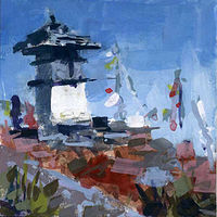 Stupa  by William Sharp
