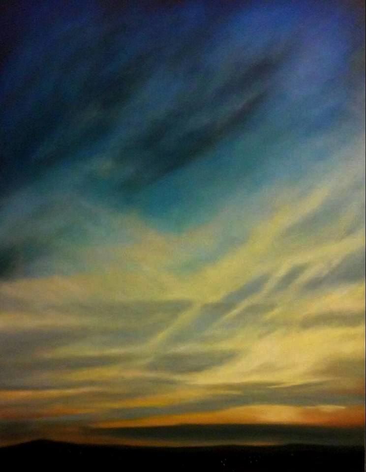 Oil painting Dawn  by Jeanie Bates