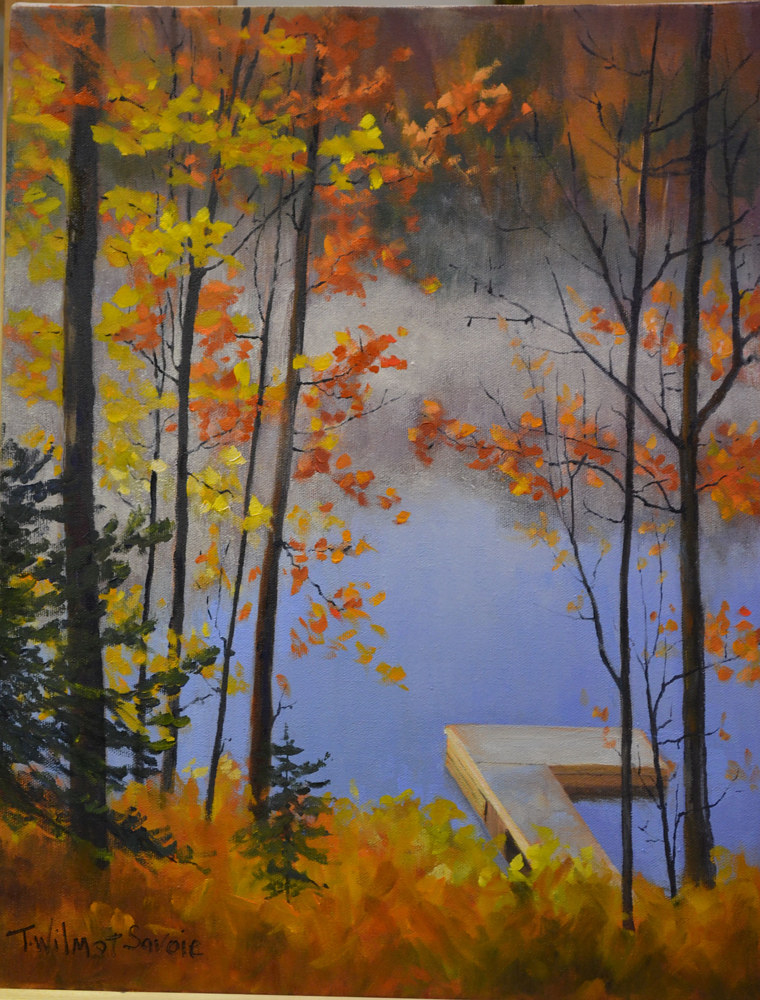 Fall at the Cottage - 41 - 1014 by Patricia Savoie