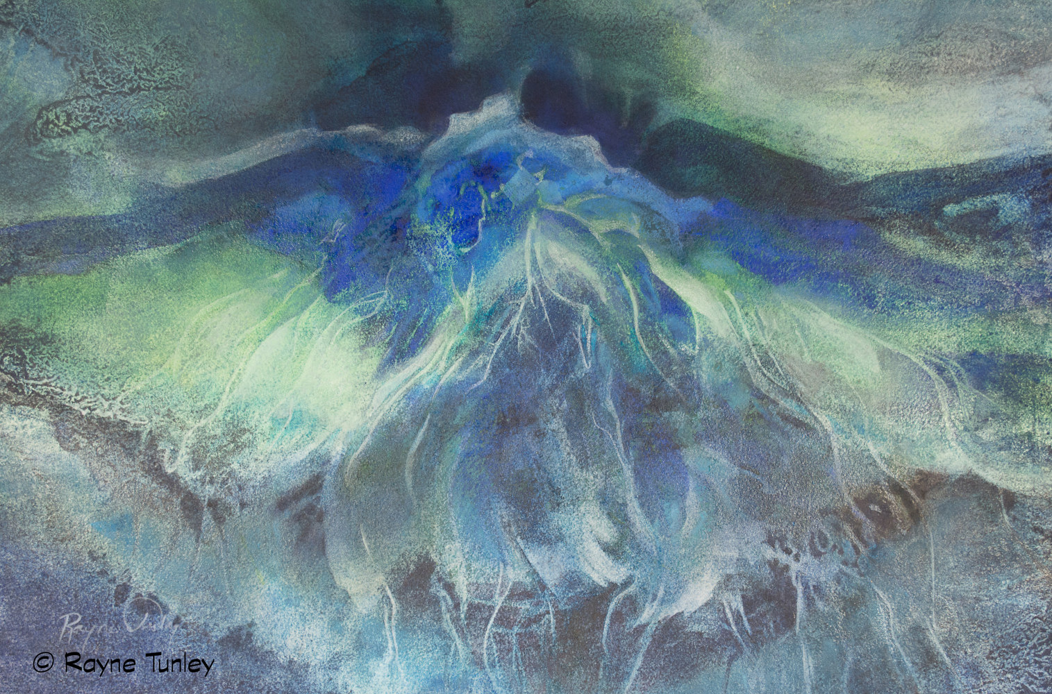 "Rayne Tunley, ""Ocean Apparitions"", 15in x 22 in, Watercolour by Rayne Tunley"