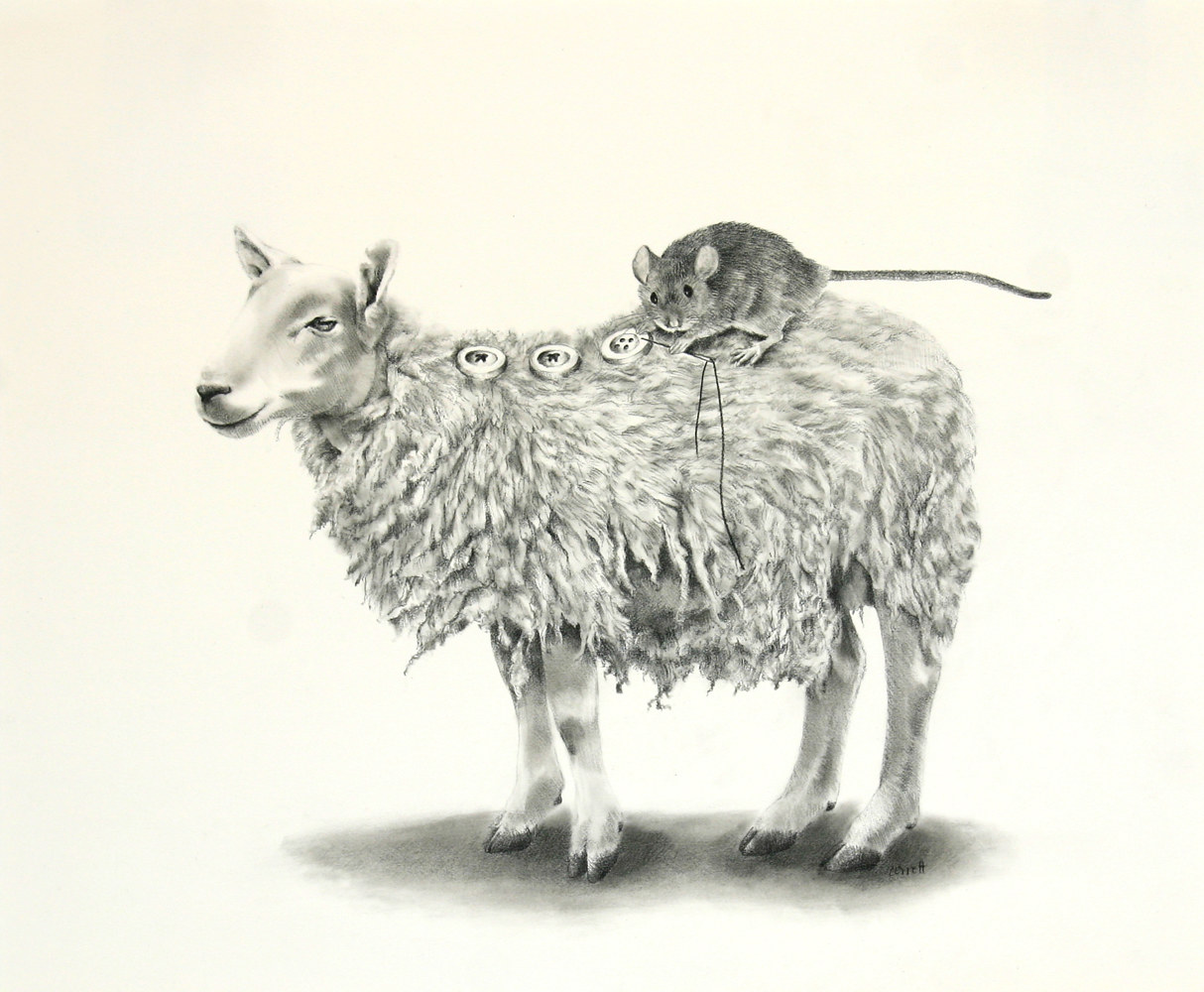 Drawing Sheep Repair by Ellen Cornett