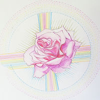 Watercolor Rose by Julie Gladstone