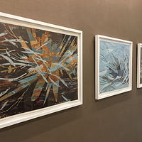 """Aquis #1,#2, and #3 at Niche 905 downtown Chicago by Robert Porazinski"