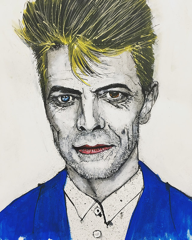david bowie by Joey Feldman