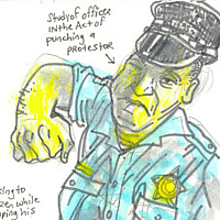 Police study by Kenneth M Ruzic