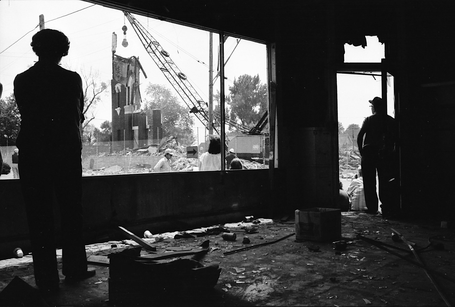 Print Eminent Domain, Hamtramck, 1979 by Kathleen Gross