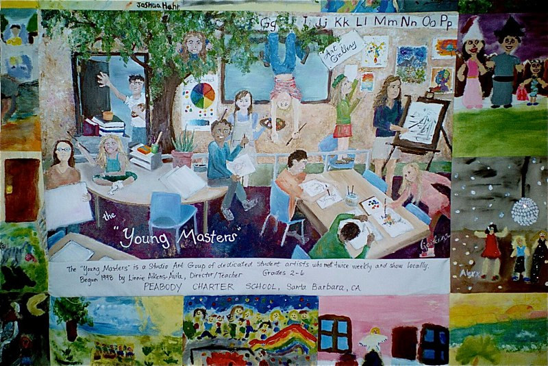 Young Masters Quilt-Centerpiece by Victoria Avila