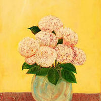 Painting Amy Kaufman, Hydrangeas by Amy Kaufman