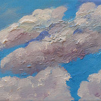 Looking Up to the Clouds by Laurie Cochrane