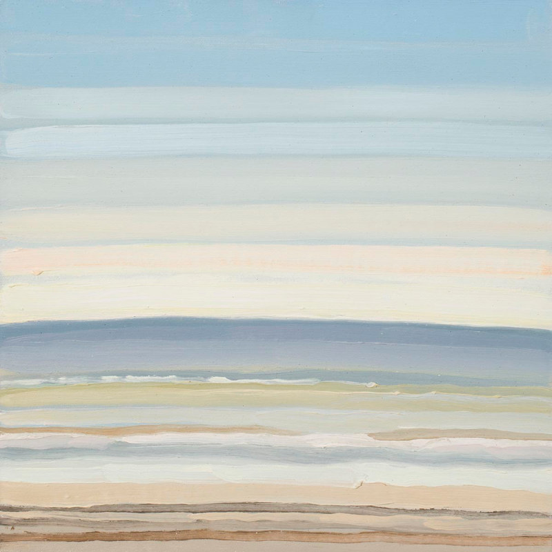 Oil painting Manzanita Stripe 4  by Shawn Demarest