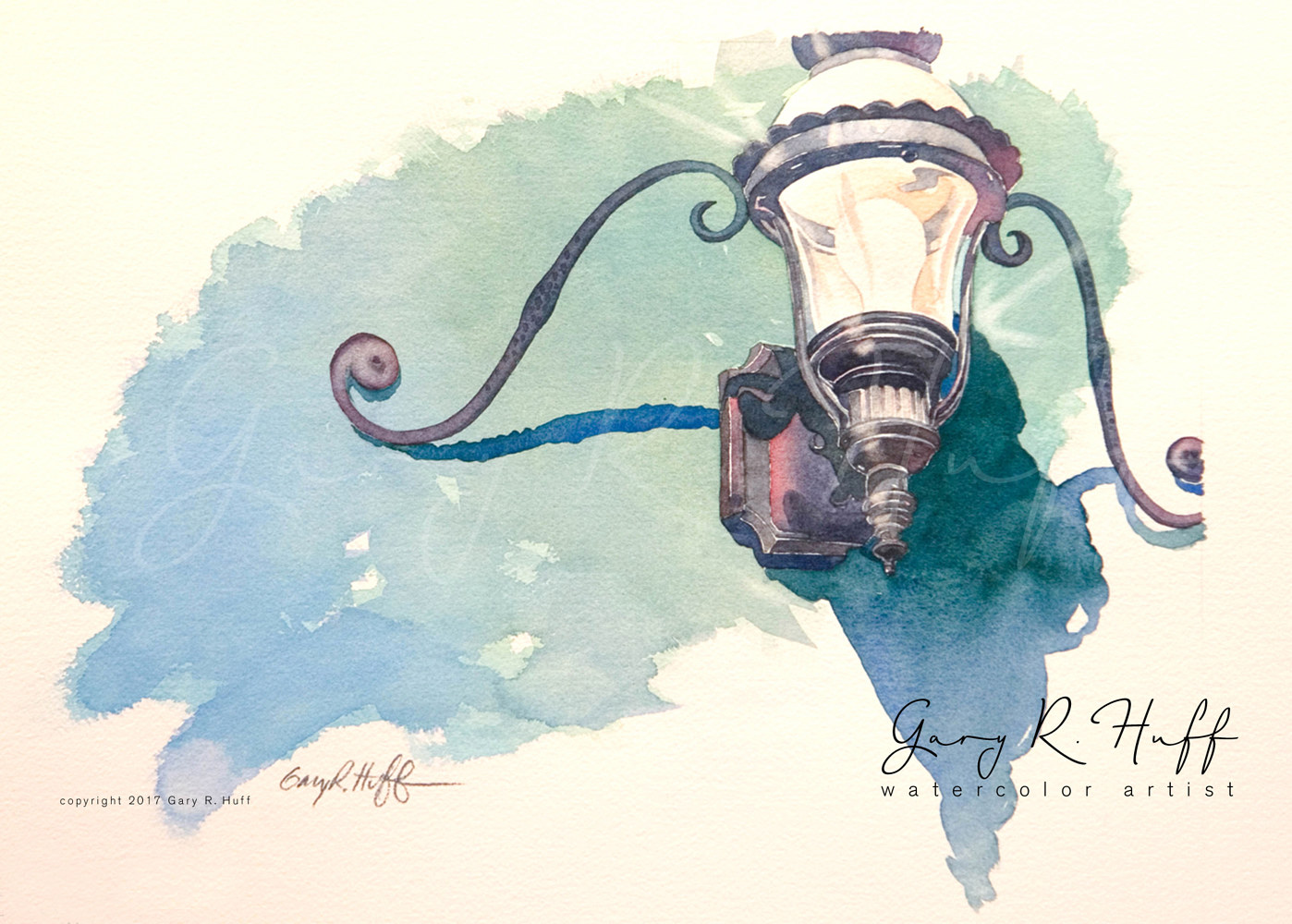 Painting Lamp by Gary Huff