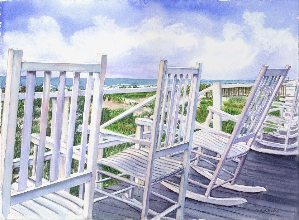 Watercolor Tales by the Sea by Judy Fowler