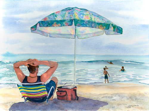 Watercolor At Last by Judy Fowler