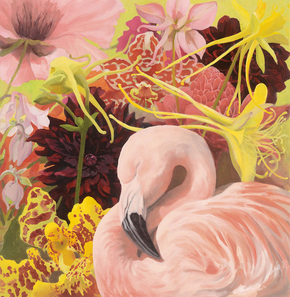 Oil painting Dreaming of Summer by Laurie Flaherty