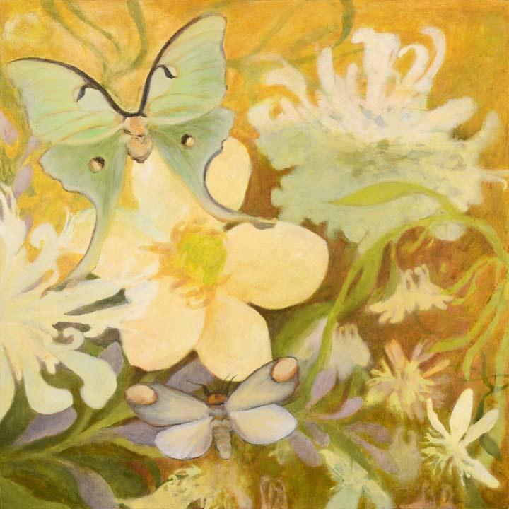 Oil painting Remembering Summer by Laurie Flaherty