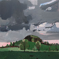 Acrylic painting 10 Saved Acres, Victoria Day by Harry Stooshinoff