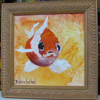 Oil painting Goldfish II by Barbara Haviland