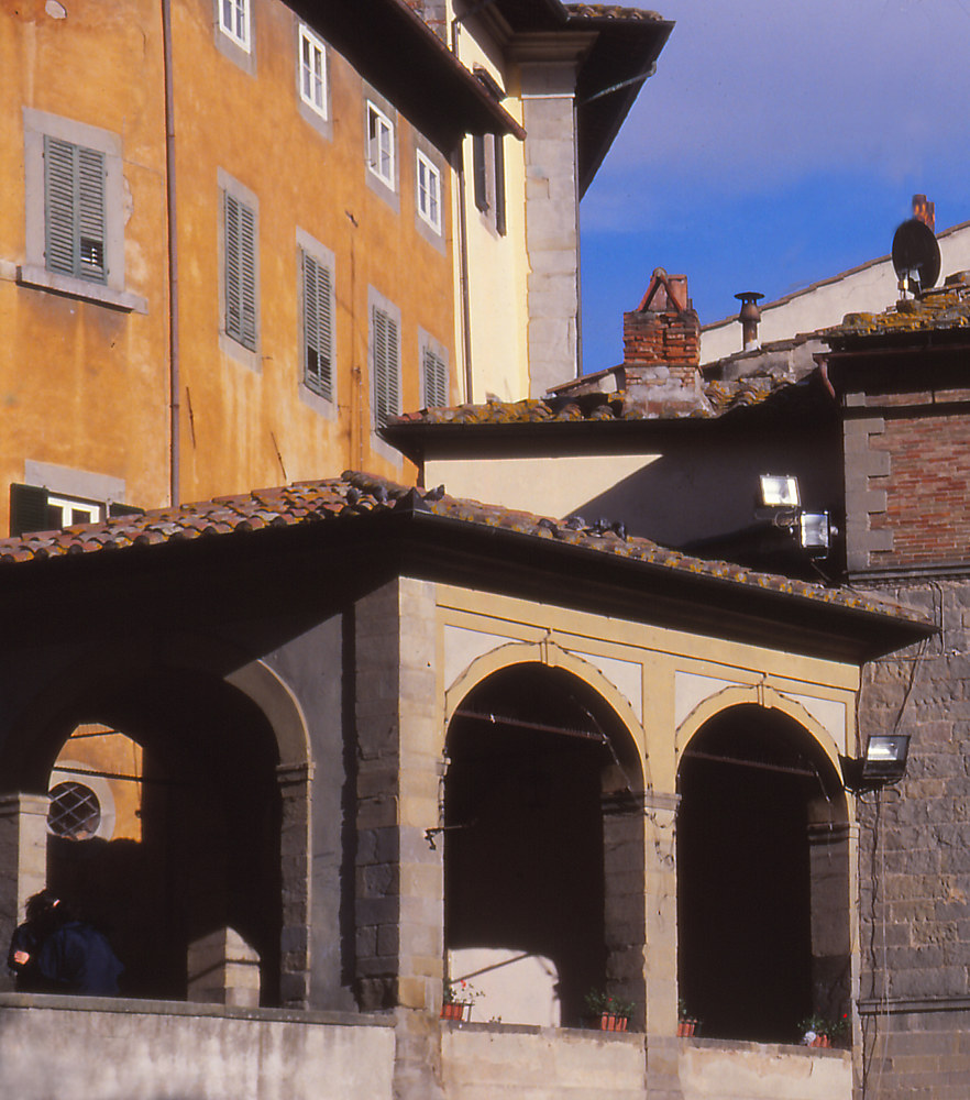 Town Square, Cortona by Kathleen Gross