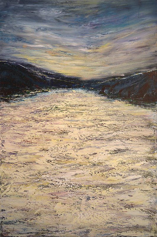Acrylic painting Tümpisa (Death Valley) No. 1 by David Tycho