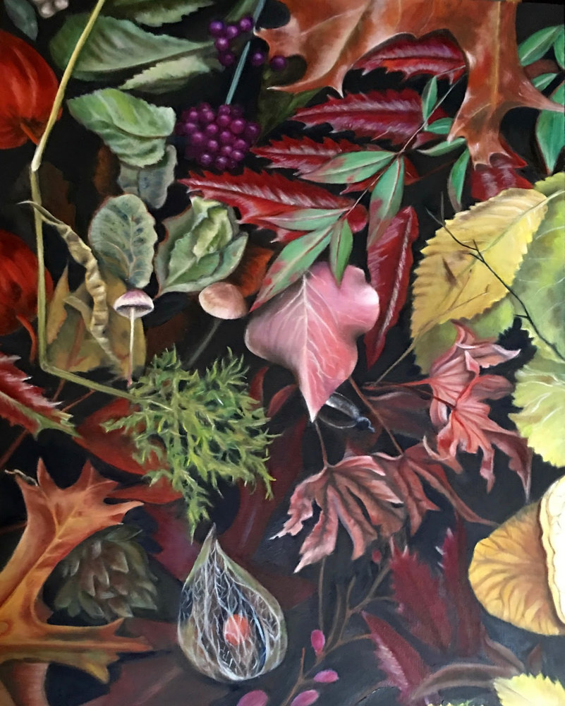 Oil painting The Nature of Things by Jeanie Bates