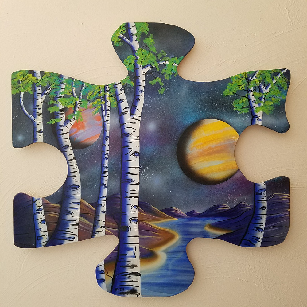 Aspen Lake Puzzle  by Isaac Carpenter