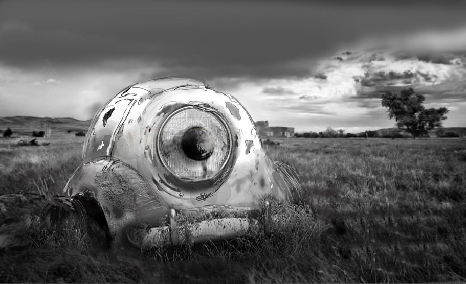 rusted eyeball by Allen Wittert
