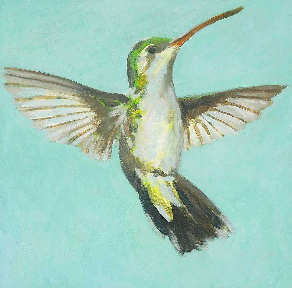 Oil painting Sprightly by Laurie Flaherty