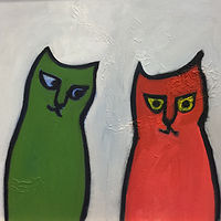 Oil painting from CATS by Michele Ridgeway